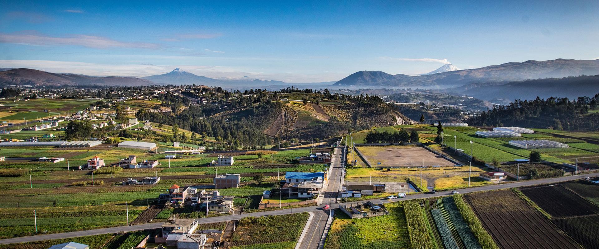 Tren del Hielo Ambato Landscape