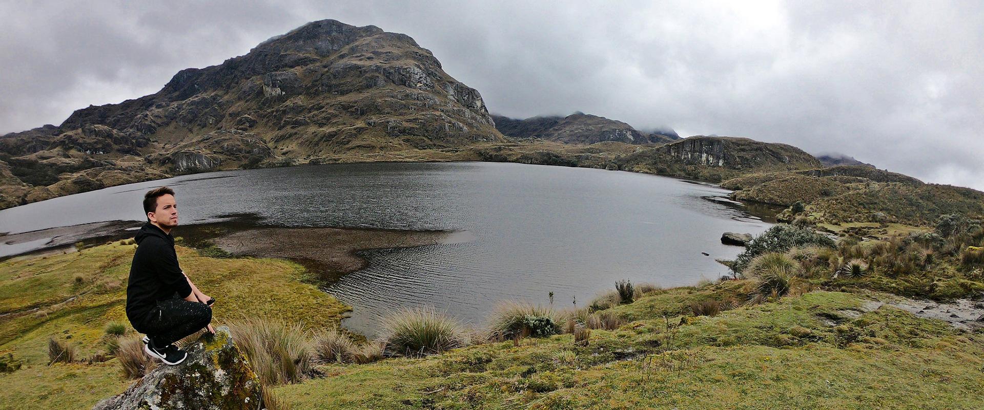 Cajas National Park Landscape Andes