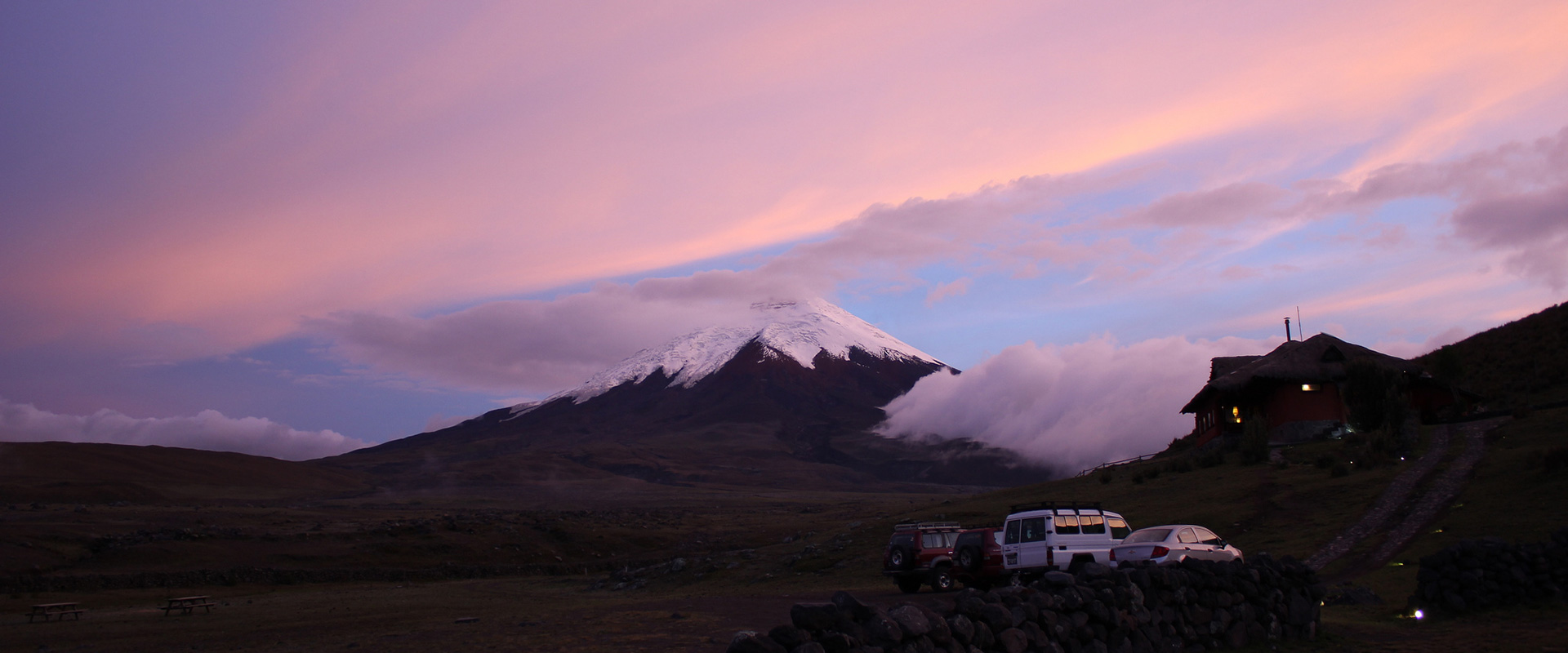 Cotopaxi Amazing Sunset