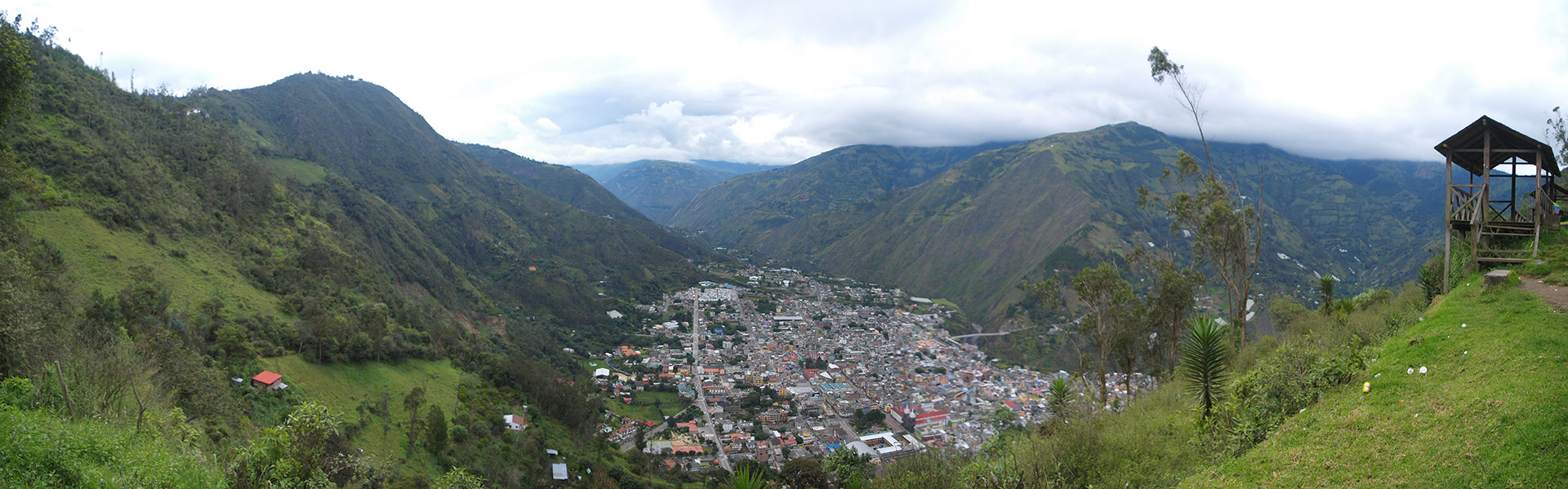 Ecuador Banos Beautiful Town