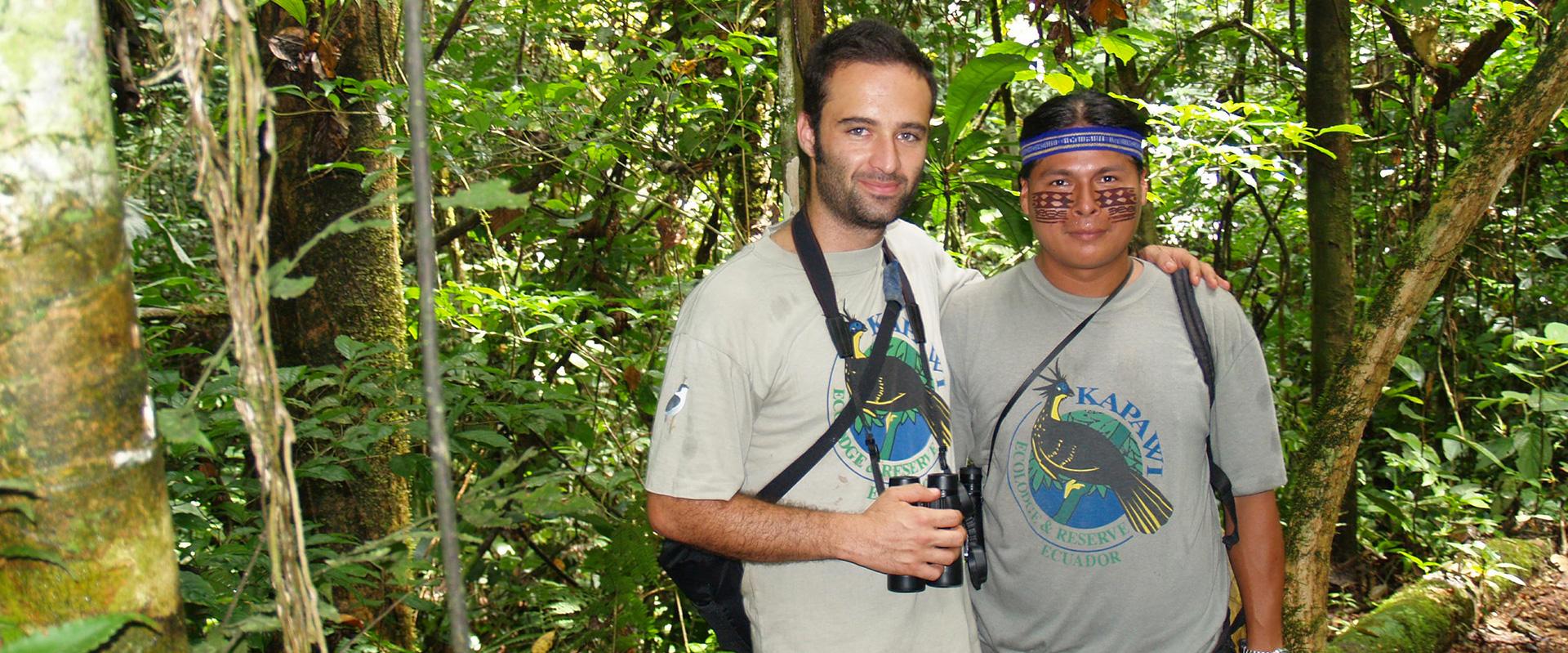 Kapawi Amazon Guides
