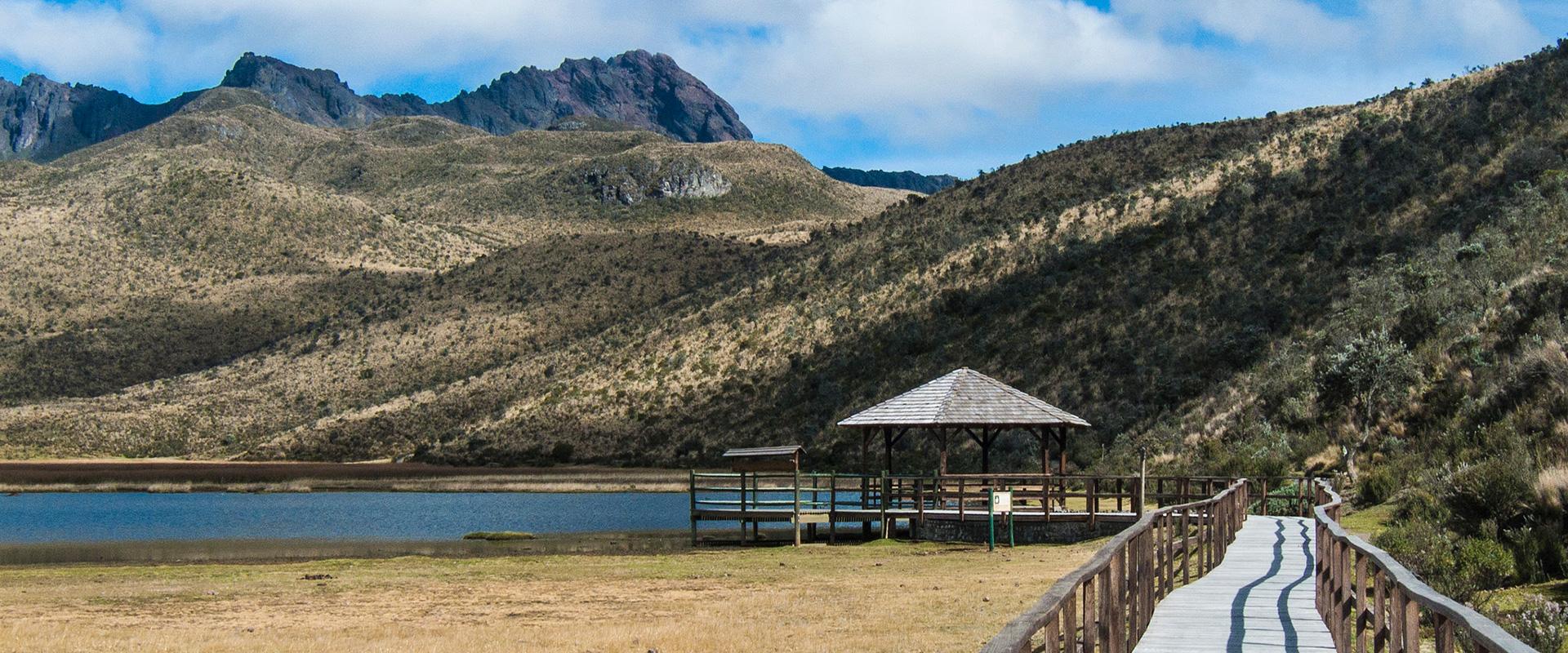 Limpiopungo Lagoon Cotopaxi Ecuador
