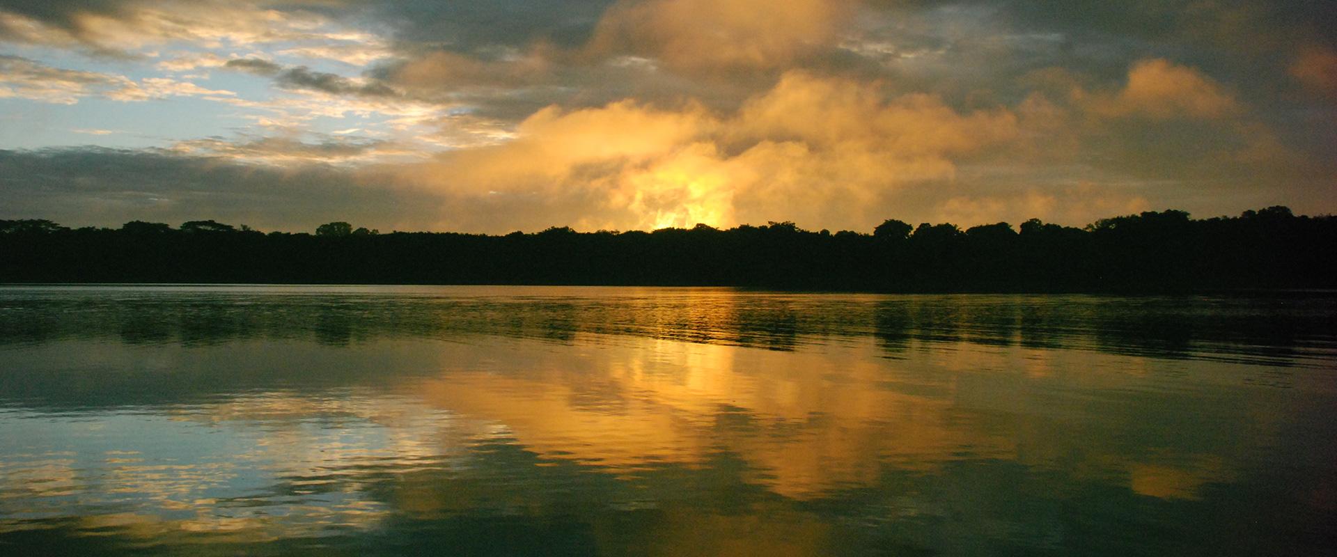 Napo River Sunset