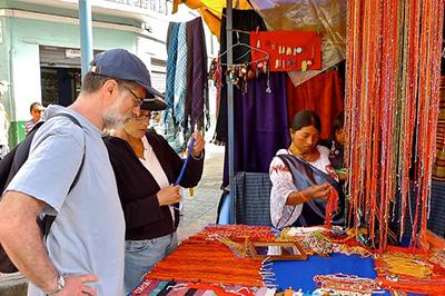 Otavalo and Train in Ecuador Tours