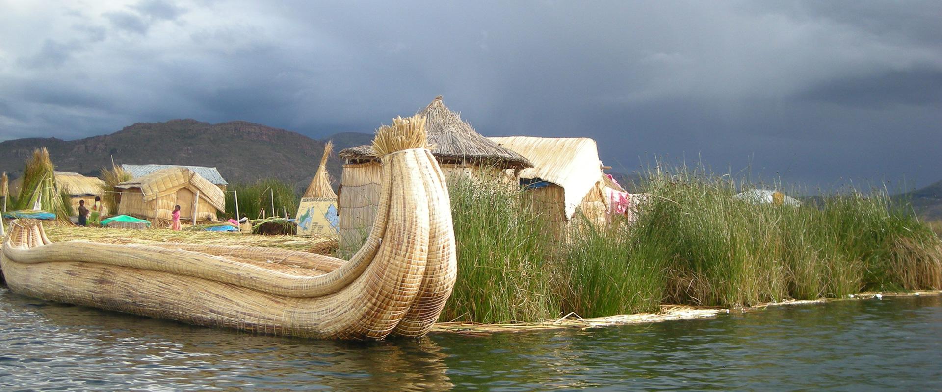 Puno Titikaka Lake