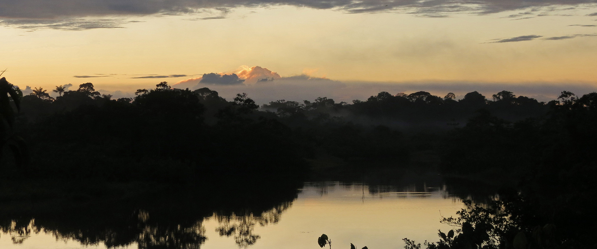 Cuyabeno Amazon Sani Lodge Sunset