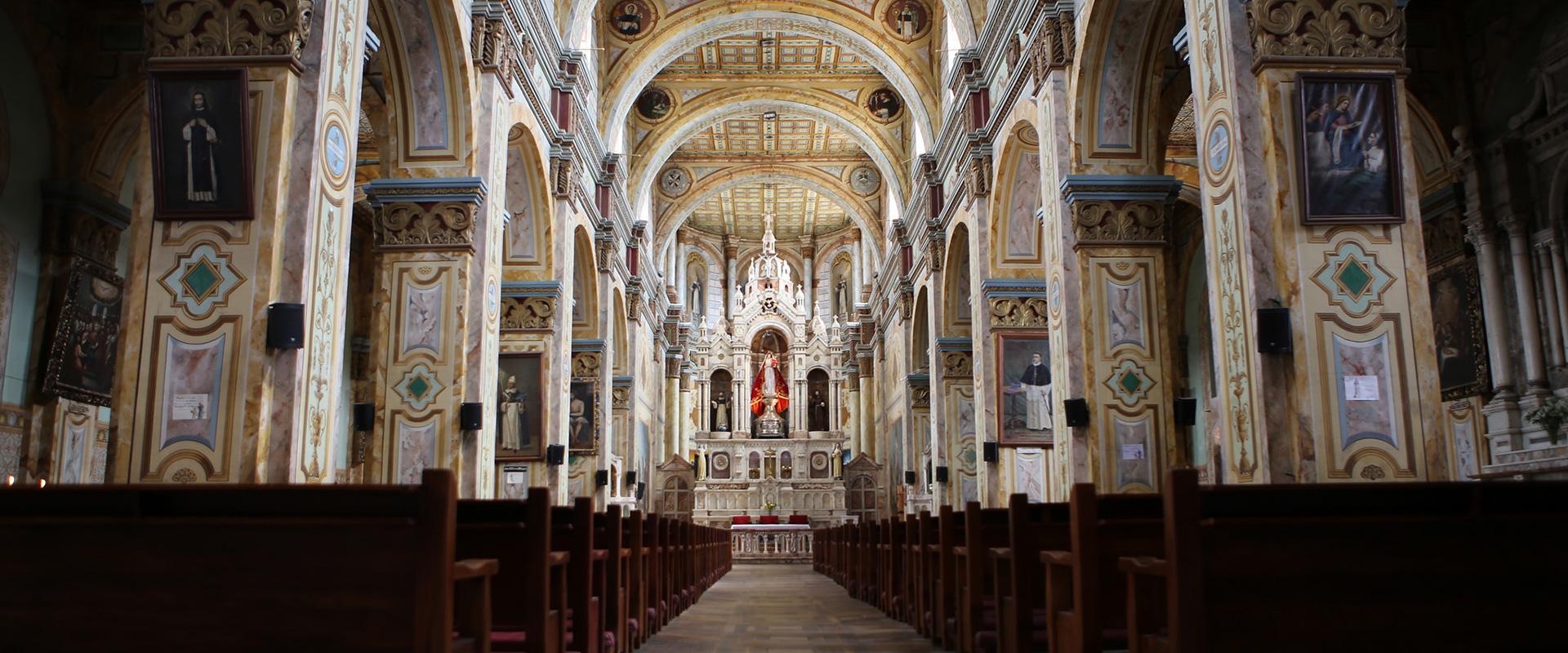 Cuenca Colonial Church Visit
