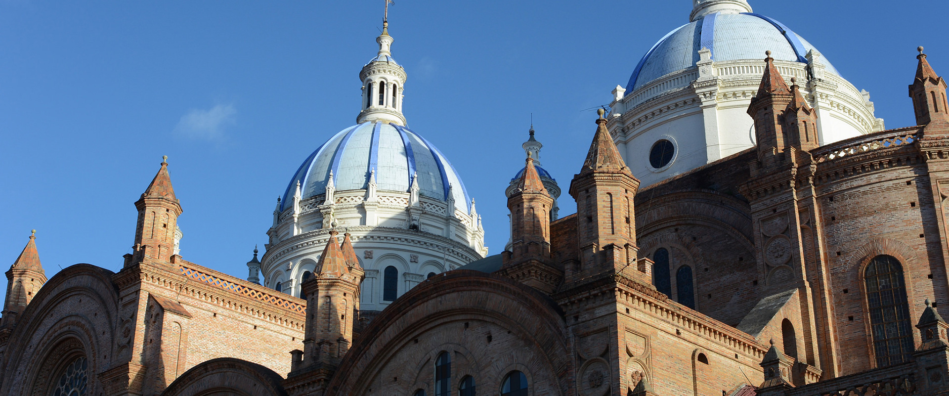 Cuenca Three Blue Domes (Tres Cruces)