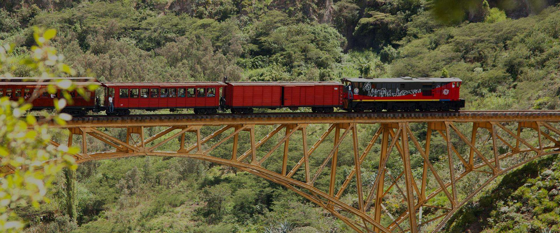 Tren de la libertad Ecuador