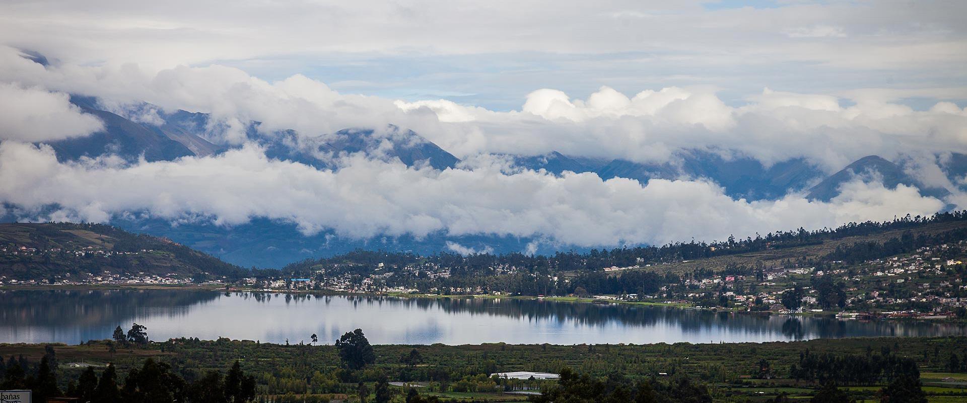 Cotacachi Volcano Tren de la Libertad Landscape