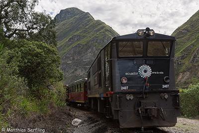 Tren del Hielo II Central Andes